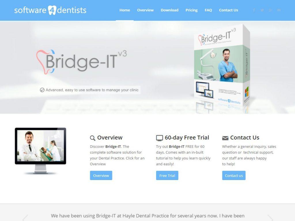 Web Design Portfolio - Software 4 Dentists