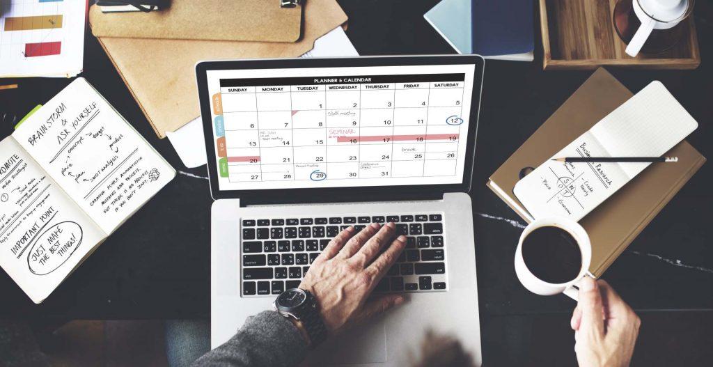 Booking Calendar - Web Design