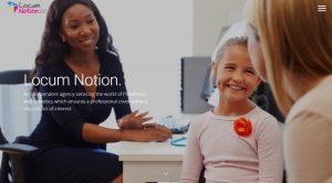 Web Design Portfolio - Locum Notion
