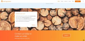 Web design Portfolio - The Log Centre ltd