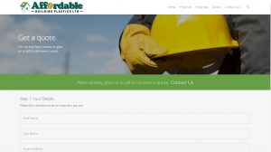 Web Design Portfolio - Affordable Building Plastics Ltd