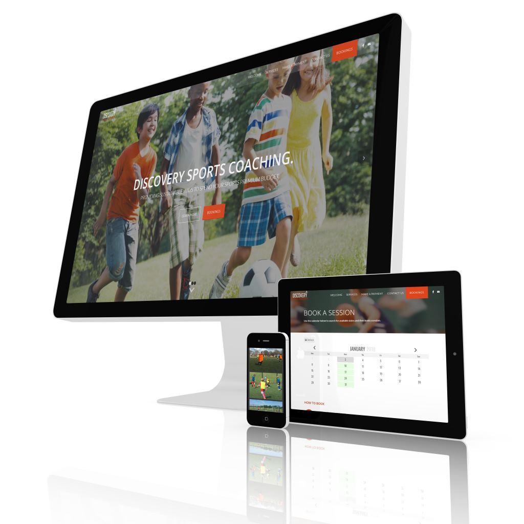 Portfolio: Discovery Sports Coaching - Big Sky Web