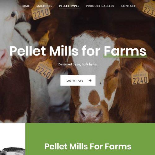 pellet mills in canada & USA